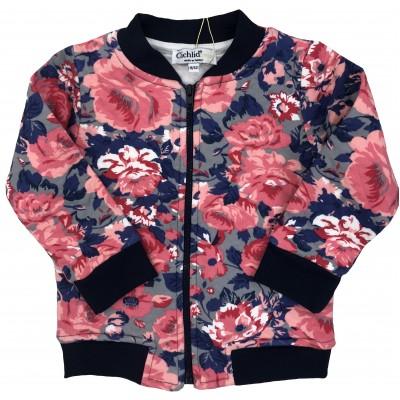 8003-003 Куртка трикотажная для девочек Cichlid