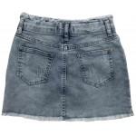 E659-01 Юбка джинсовая для девочек Cichlid