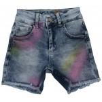 S660-01 Шорты джинсовые для девочек Cichlid