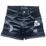 S663 Шорты джинсовые для девочек Cichlid