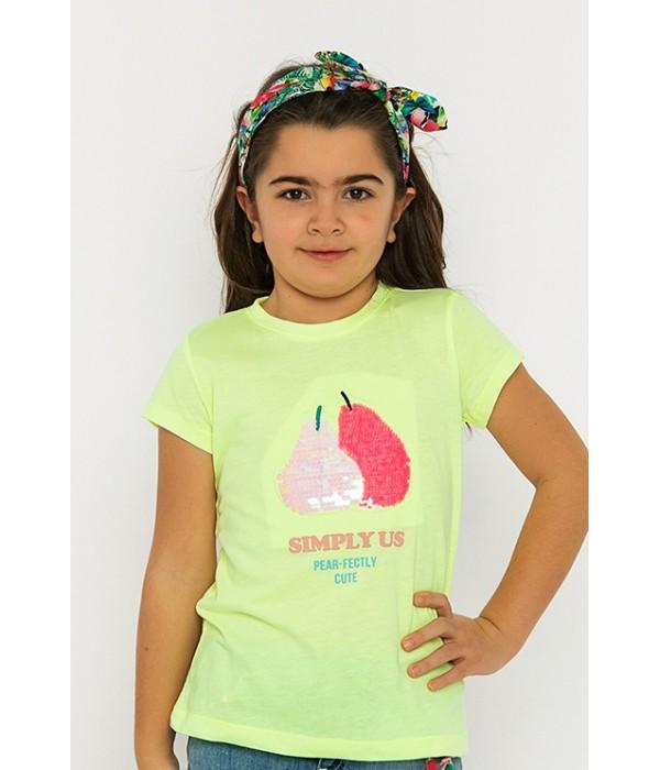 3001-011-1 Футболка для девочек Cichlid