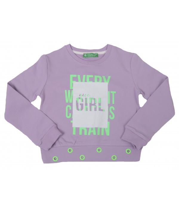 2901-021 Свитшот для девочек Cichlid