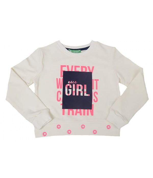 2901-021-1 Свитшот для девочек Cichlid