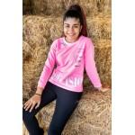 2901-028 Свитшот для девочек Cichlid