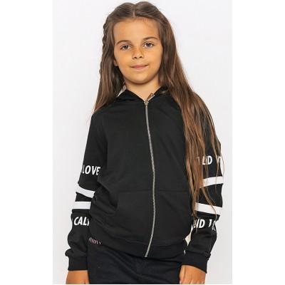 2901-033 Куртка трикотажная для девочек Cichlid