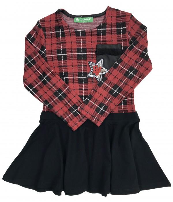 2302-039 Платье  для девочек Cichlid