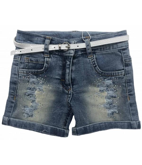 1031 Шорты джинсовые для девочек Oryeda