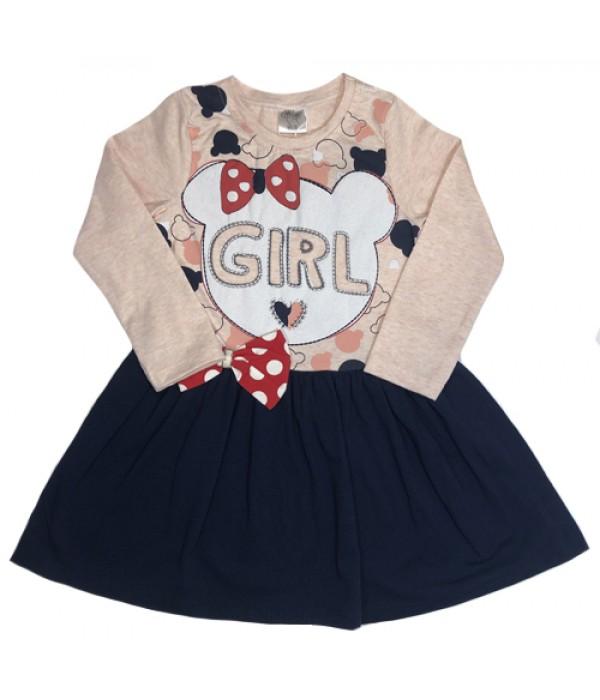 4363-1 Платье для девочек Baby Pink