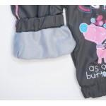 C301-7 Брюки на флисовой подкладке для девочек Ministars