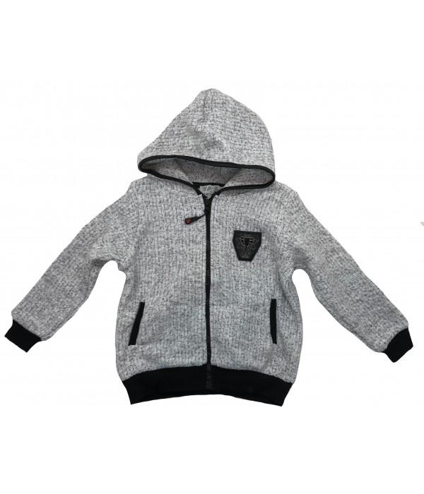KU-033 Куртка трикотажная для девочек Watch Me