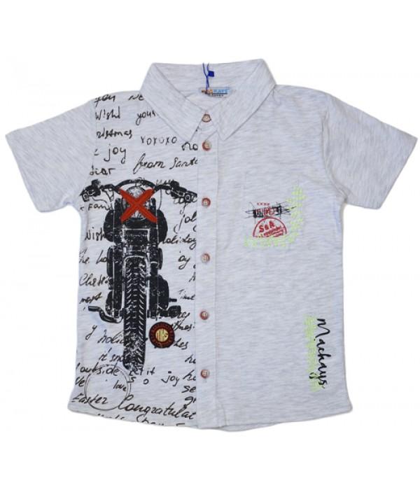 2861-001-01 Рубашка трикотажная для мальчиков Mackays