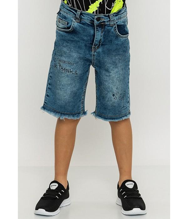 S818 Капри джинсовые для мальчиков Mackays