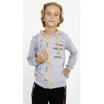 6626-026 Куртка трикотажная с капюшоном для мальчиков Mackays