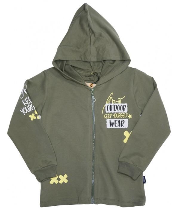 G-933-1 Куртка трикотажная для мальчиков Tuffy