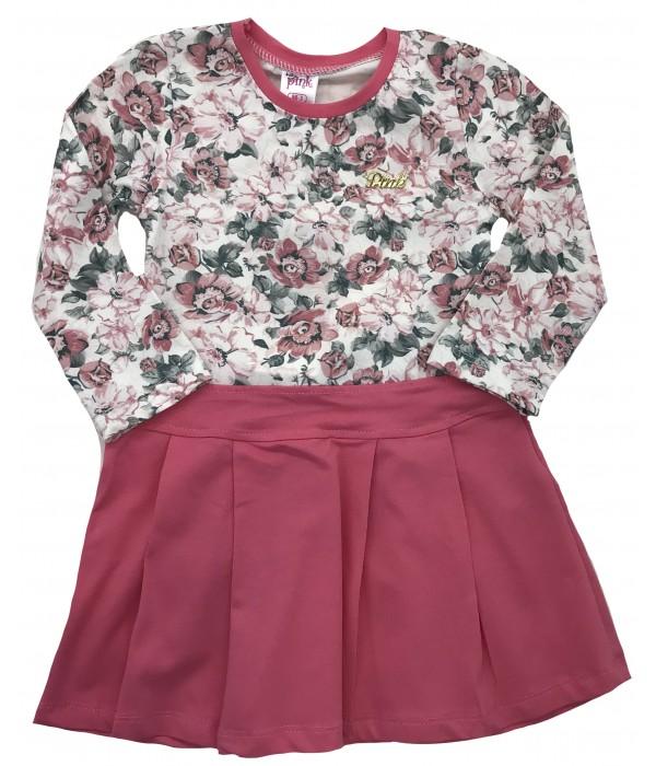 9614 Платье для девочек Baby Pink
