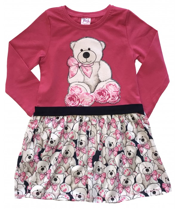 9642-2 Платье для девочек Baby Pink