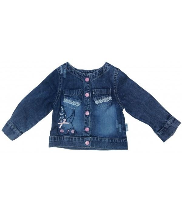 4588 Куртка джинсовая для девочек Overdo