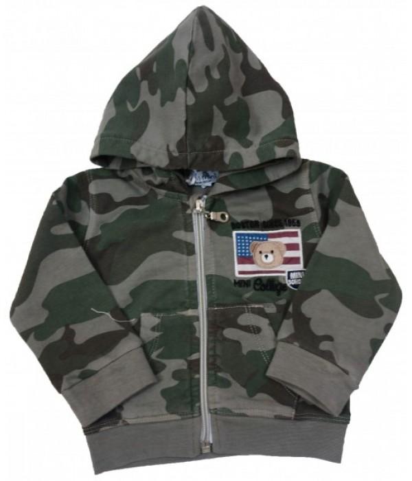 М-854-11 Куртка трикотажная для мальчиков Ministars