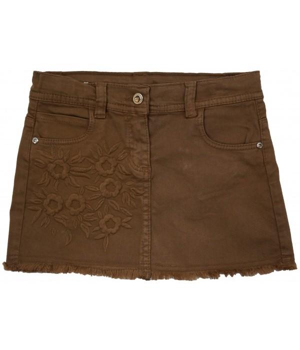 F1465-1 Юбка джинсовая для девочек Cichlid