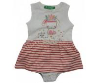 1805-008 Боди-платье для девочек Cichlid