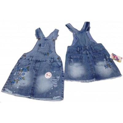 5305 Сарафан джинсовый для девочек Overdo
