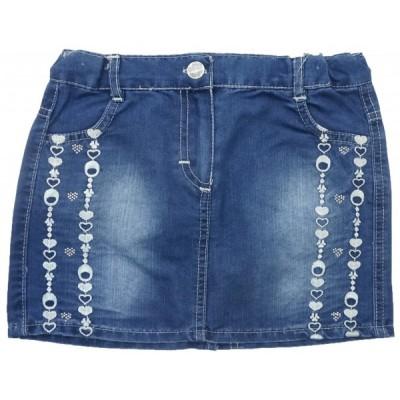 10963 Юбка джинсовая для девочек Mini'a