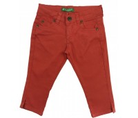 T259-02 Капри джинсовые для девочек Cichlid
