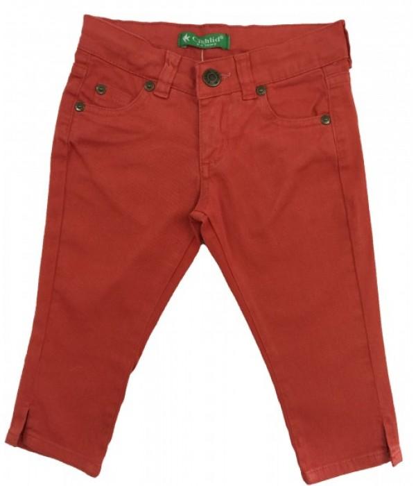 T259-02 Бриджи джинсовые для девочек Cichlid