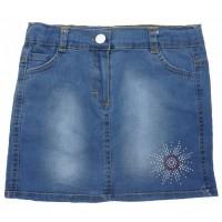 10818 Юбка джинсовая для девочек Mini'a