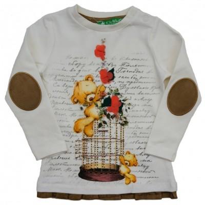 1901-054 Лонгслив для девочек Cichlid