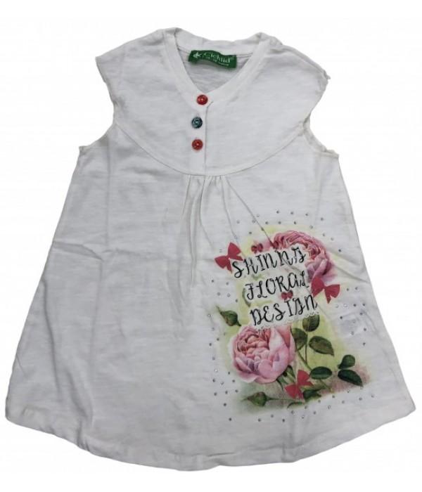 E2054 Платье для девочек Cichlid
