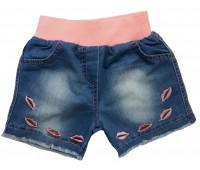 10607 Шорты джинсовые для девочек Mini'a