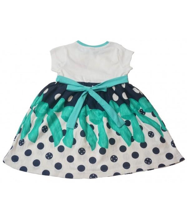 9001-2 Платье для девочек Pink
