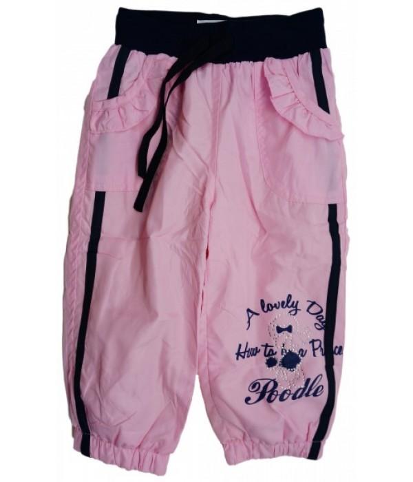 C301 Брюки на флисовой подкладке для девочек Ministars