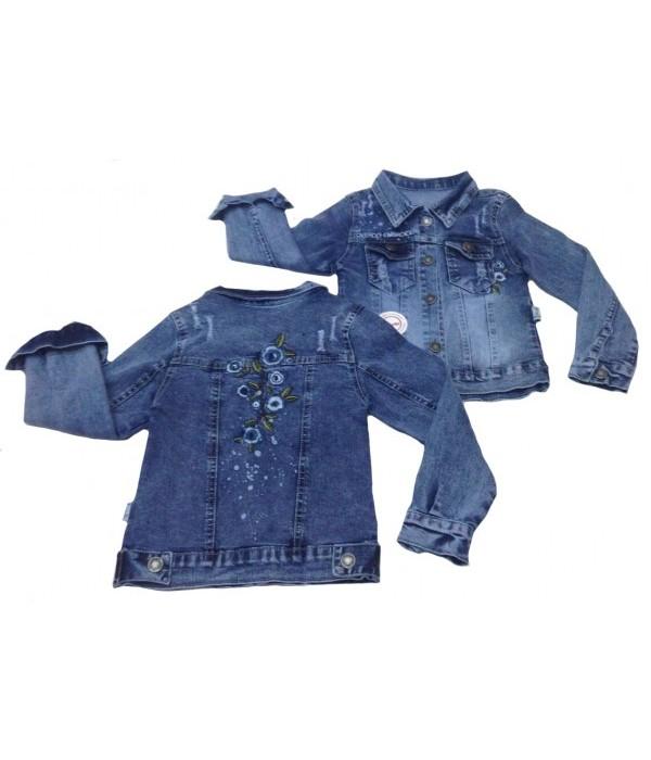5321 Куртка джинсовая для девочек Overdo