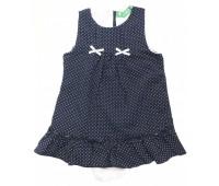 1605-012-1 Платье-боди для девочек Cichlid