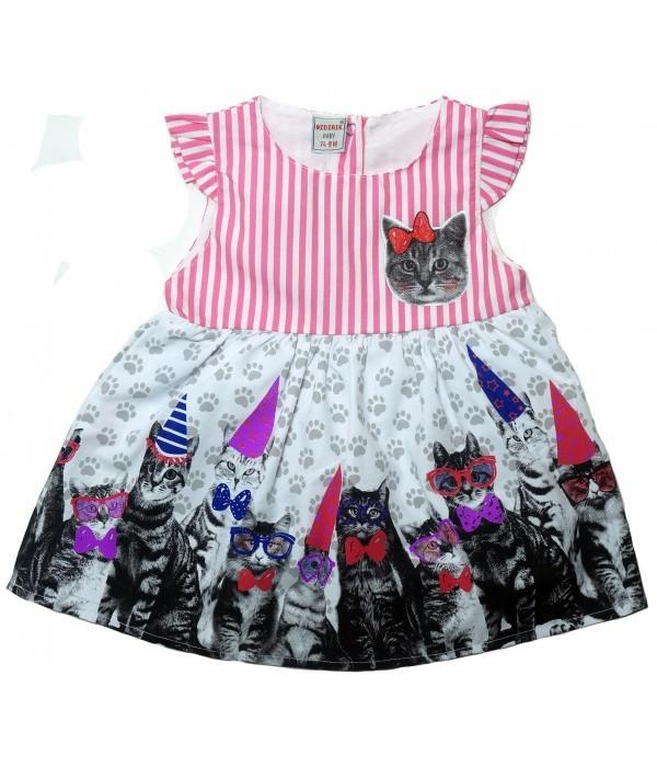 624-1 Платье для девочек Bidirik