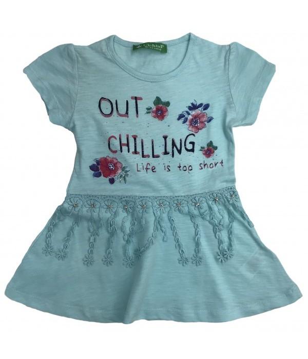 E2366-1 Платье для девочек Cichlid