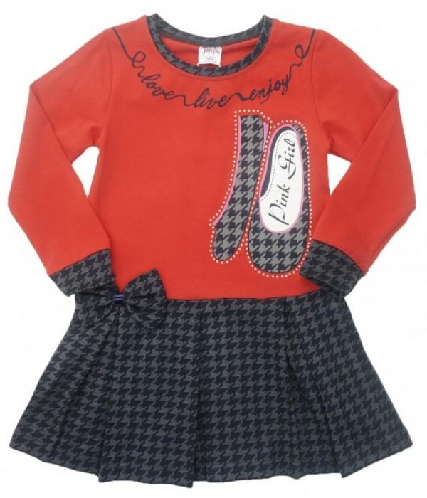 9204 Платье для девочек Baby Pink