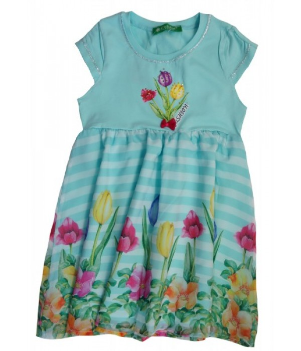 2002-010-1 Платье для девочек Cichlid