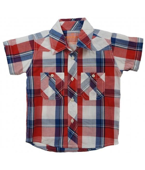 М-695 Рубашка для мальчиков Ministars