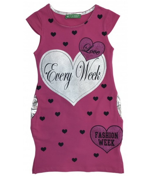 KU276 Платье для девочек Cichlid