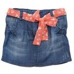 T266-B Юбка джинсовая для девочек Cichlid