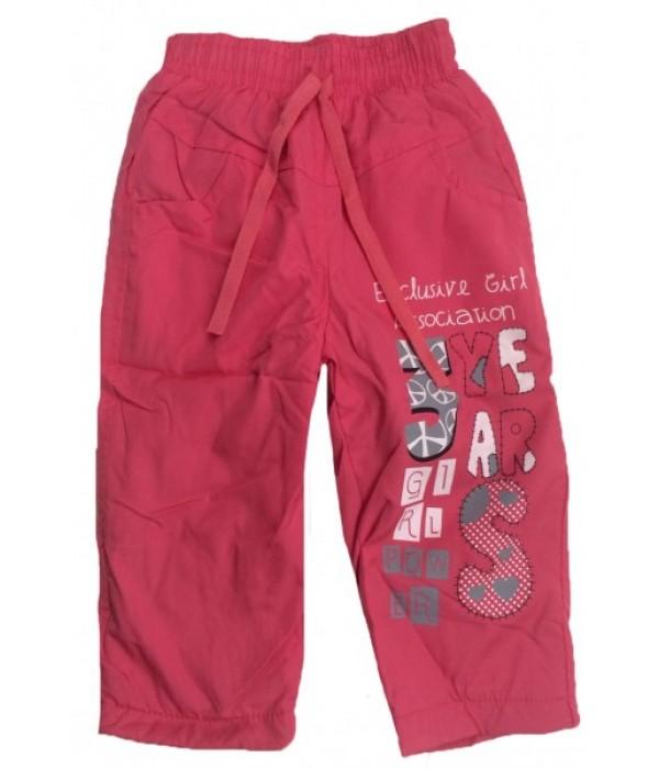 C300 Брюки на флисовой подкладке для девочек Ministars