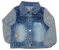 4539 Куртка джинсовая для девочек Overdo