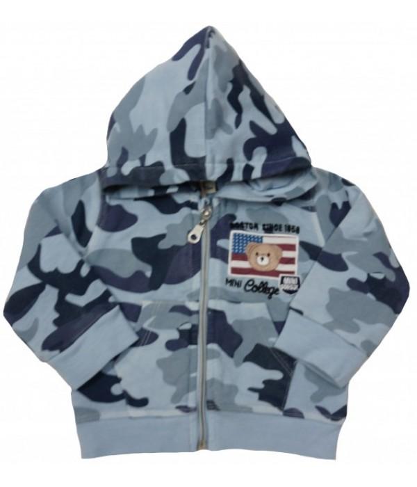 М-854-01 Куртка трикотажная для мальчиков Ministars
