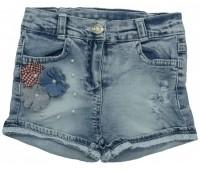 4913 Шорты джинсовые для девочек Overdo
