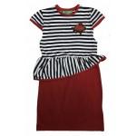 E2570 Платье для девочек Cichlid