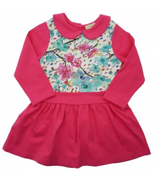 8246 Платье для девочек Pink