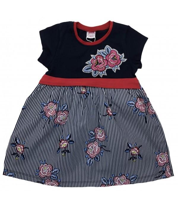 9468-1 Платье для девочек Pink